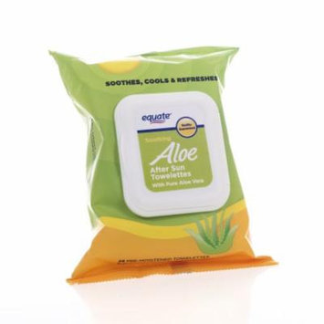 Equate Aloe After Sun Towlettes