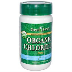 Frontier Natural Products Co-op 222779 Green Foods Organic Chlorella Organic Chlorella Powder 2.1 oz.