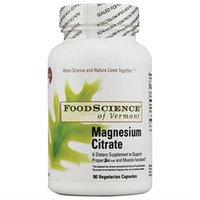FoodScience of Vermont Magnesium Citrate - 90 Vegetarian Capsules