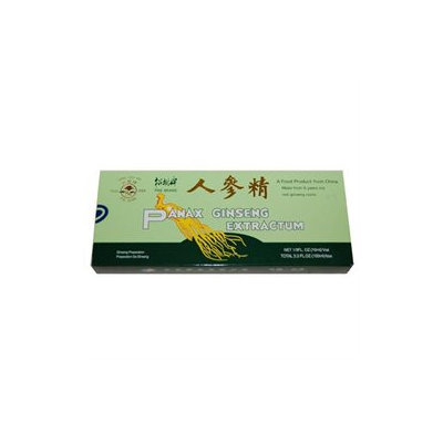 Frontier Natural Products Co-op 208388 Prince of Peace Pine Brand Extractum - Panax Ginseng 2,000 mg 10 cc 30 vials