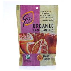 Go Naturally - Organic Hard Candies Blood Orange - 3.5 oz.