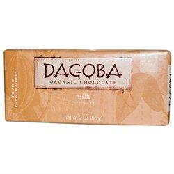 Dagoba Organic Chocolate 25047 Organic Milk Chocolate Bar 37 Percent