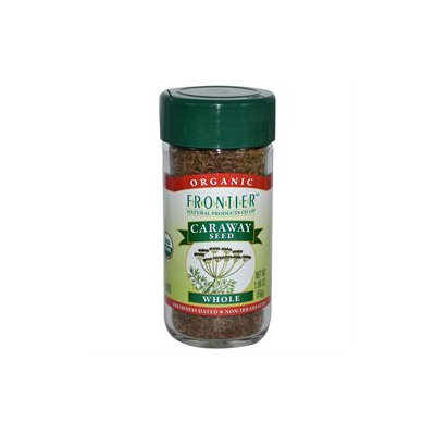 Frontier Natural Products - Caraway Seed Whole Organic - 1.96 oz.