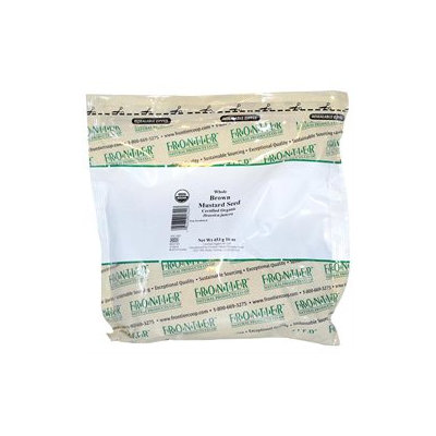 Frontier Mustard Seed Brown Whole Organic - 1 lb