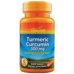Thompson Nutritional 0660027 Turmeric Curcumin - 300 mg - 60 Capsules