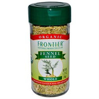Frontier Natural Products - Fennel Seed Whole Organic - 1.27 oz.