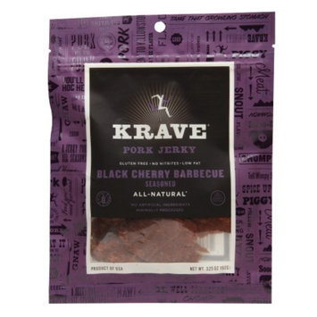 Krave Jerky Black Cherry BBQ Pork Jerky 3.25 oz