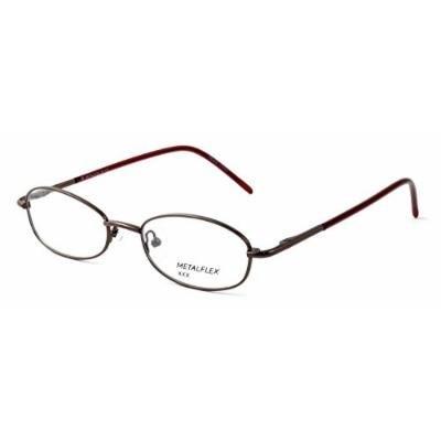 Calabria Kids Fit MetalFlex U Pewter Designer Eyeglasses XX in Brown ; Demo Lens