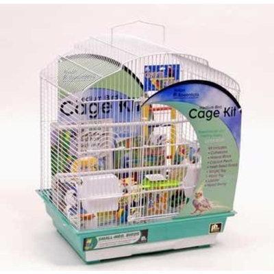 Mojetto Prevue Hendryx 91330 Dometop Cockatiel Bird Cage Starter Kit