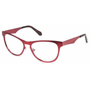 Cynthia Rowley No. 94 Oxblood Cat-Eye Metal Eyeglasses
