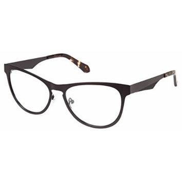 Cynthia Rowley No. 94 Matte Black Cat-Eye Metal Eyeglasses