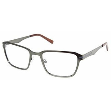 Cynthia Rowley No. 37 Matte Hunter Rectangle Metal Eyeglasses