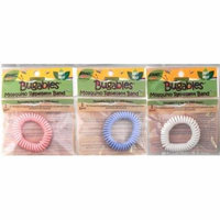 3 - BUGABLES Mosquito Repelling Spiral Bracelets Deet Free Non-Toxic + Free Shipping