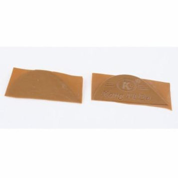 Pair Antislip Rubber Shoes Boots Sole Heel Plate Taps Tips Repair Pads Brown