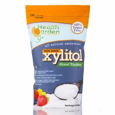 Xylitol - 1 Lb (453 Grams) by Health Garden