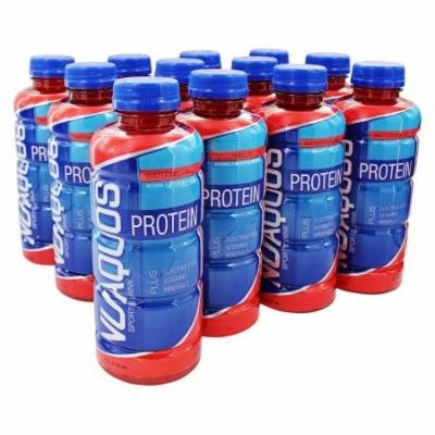 New Whey - Nuaquos Protein Sports Drink Watermelon - 12 Bottle(s)