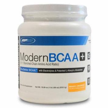 USP Labs Modern BCAA+, Mango Orange, 30 Servings - 18.89 oz (535.5g)