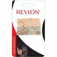 Revlon Hair Accents Metal Barrettes, 4 count