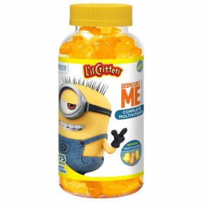 L'il Critters Despicable Me Minion Made Complete Multivitamin Gummies, 275 ct.