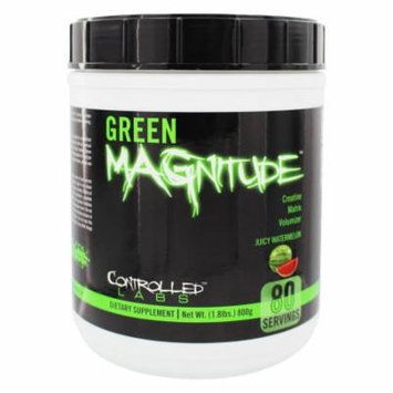 Controlled Labs - Green Magnitude Creatine Matrix Volumizer Juicy Watermelon - 1.8 lbs.