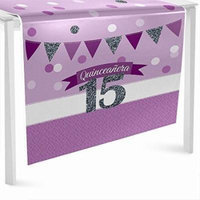 Quinceanera Purple - Sweet 15 - Party Table Runner - 24
