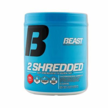 Beast Sports Nutrition 2 Shredded, Beast Punch, 45 Servings