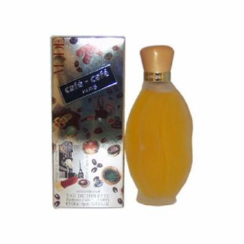 Cafe-Cafe Paris by Cofinluxe for Women - 3.4 oz Concentrated EDT Spray