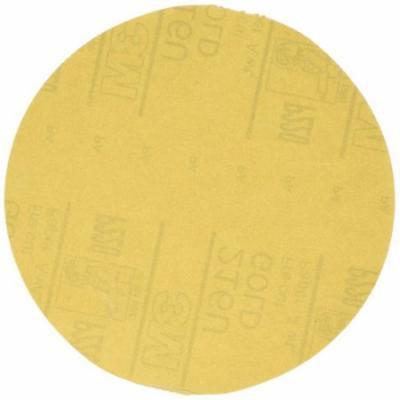 3M 1208 6 in. Stikit Gold P220 Grade Sanding Discs (75-Pack)