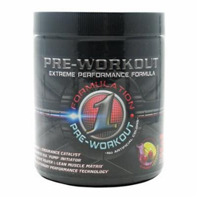 Formulation One Nutrition - Pre Workout Chy/Lemonade 37/Sr