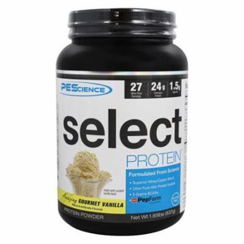 PEScience - Select Protein Powder Amazing Gourmet Vanilla - 1.85 lbs.
