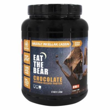 Eat The Bear - Grizzly Micellar Casein Extended Release Protein Chocolate - 1.6 lbs.