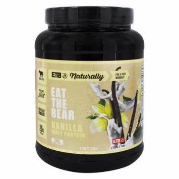 Eat The Bear - Naturally Whey Protein Vanilla - 1.62 lbs.