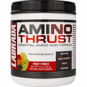 Labrada Nutrition Amino Thrust, Fruit Punch, 8.67 ounces (30 Servings)