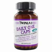Twinlab 823401 Daily One Caps With Iron 60 Capsules