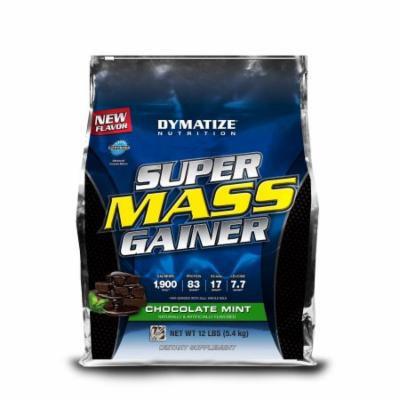 Dymatize Super Mass Gainer, Chocolate Mint, 12 LBS