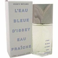 Issey Miyake L'eau Bleue D'issey Eau Fraiche for Men Eau de Toilette Natural Spray, 4.2 fl oz