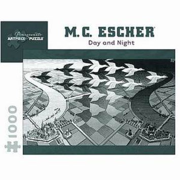 MC Escher Day and Night Puzzle