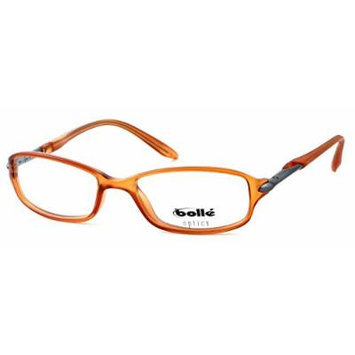 Bolle Optics Designer Eyeglasses Elysee 70220 in Satin Cognac 50MM ; DEMO LENS