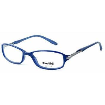 Bolle Optics Designer Eyeglasses Elysee in Opaque Blue 70218 50MM ; DEMO LENS