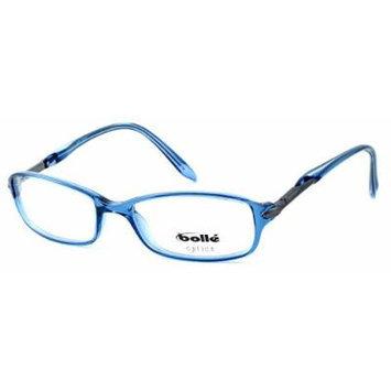 Bolle Optics Designer Eyeglasses Elysee 70215 in Crystal Blue 52MM ; DEMO LENS
