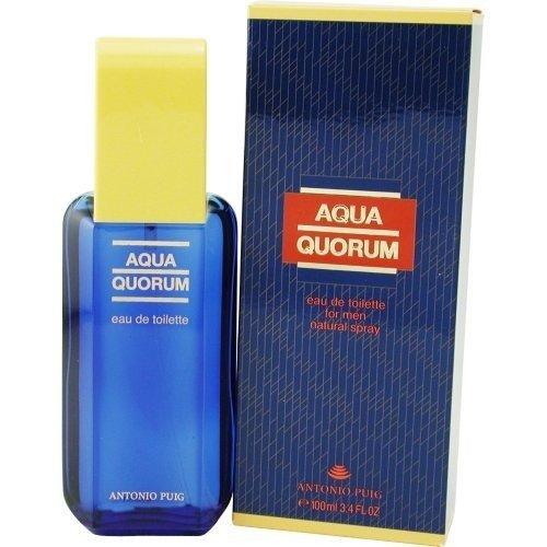 Aqua Quorum By Antonio Puig Edt Spray 3.4 Oz