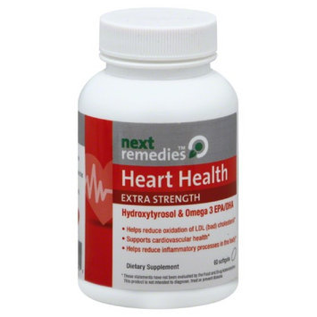 Next Remedies Extra Strength Heart Health Softgels - 30 Capsules Case Of 1
