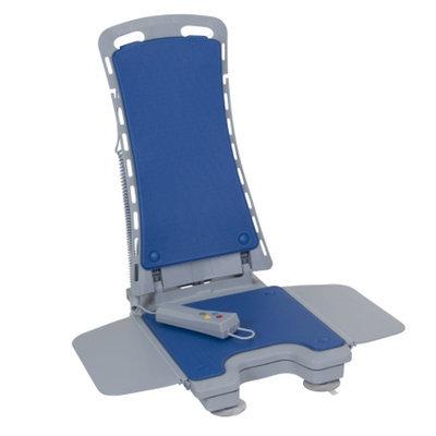 Drive Medical Whisper Ultra Quiet Bathtub Lift, Blue Cover, 1 ea