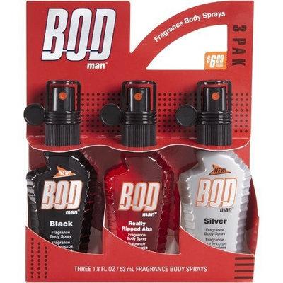 Bod Man Trio Body 1.8 oz Spray Gift Set