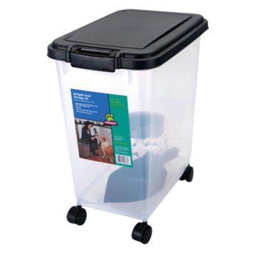 Top Paw Dog Food Container Kit With Treat Jar