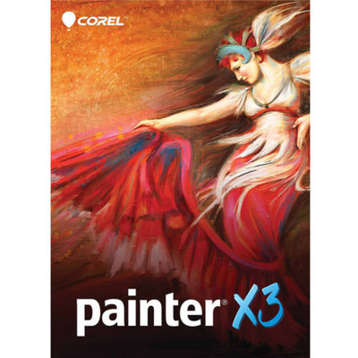 Corel ESDPTRX3ENPCMUG Painter X3 Upgrade ESD Software (PC/Mac) (Digital Code)