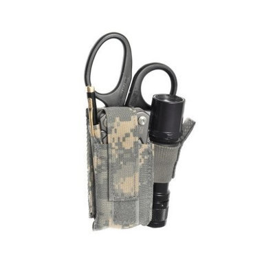 Raine, Inc. Raine MOLLE Mini Light/Knife/Scissor Pouch, ACU