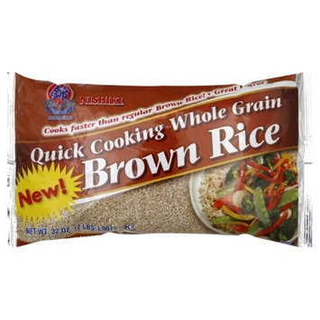 Nishiki Brown Rice Quick Cooking, 32-Ounce (Pack of 6)
