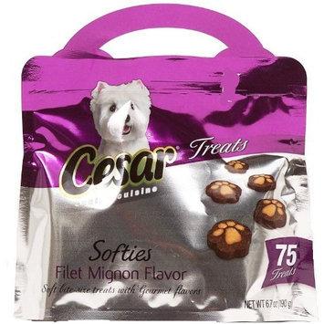 Cesar Canine Cuisine Cesar Softies Dog Treat - Filet Mignon - 6.7 oz