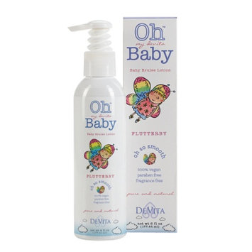 Oh my devita Baby FlutterBy Baby Brulee Lotion, 6 fl oz